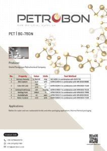 PET BG-780 N