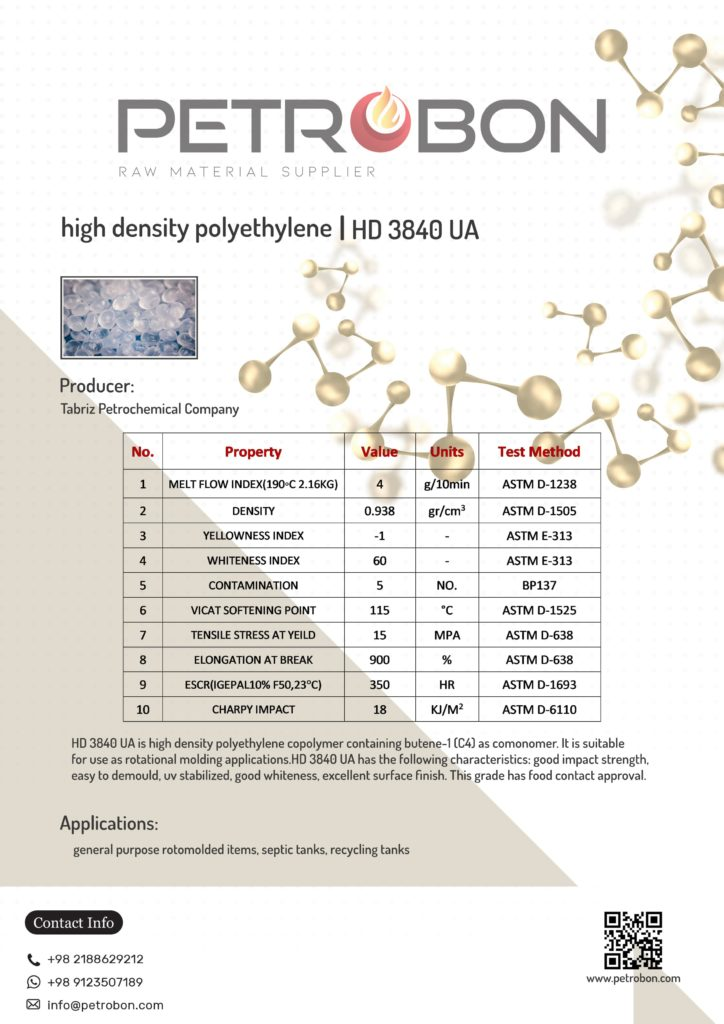 HD 3840 UA Tabriz Datasheet | www.petrobon.com