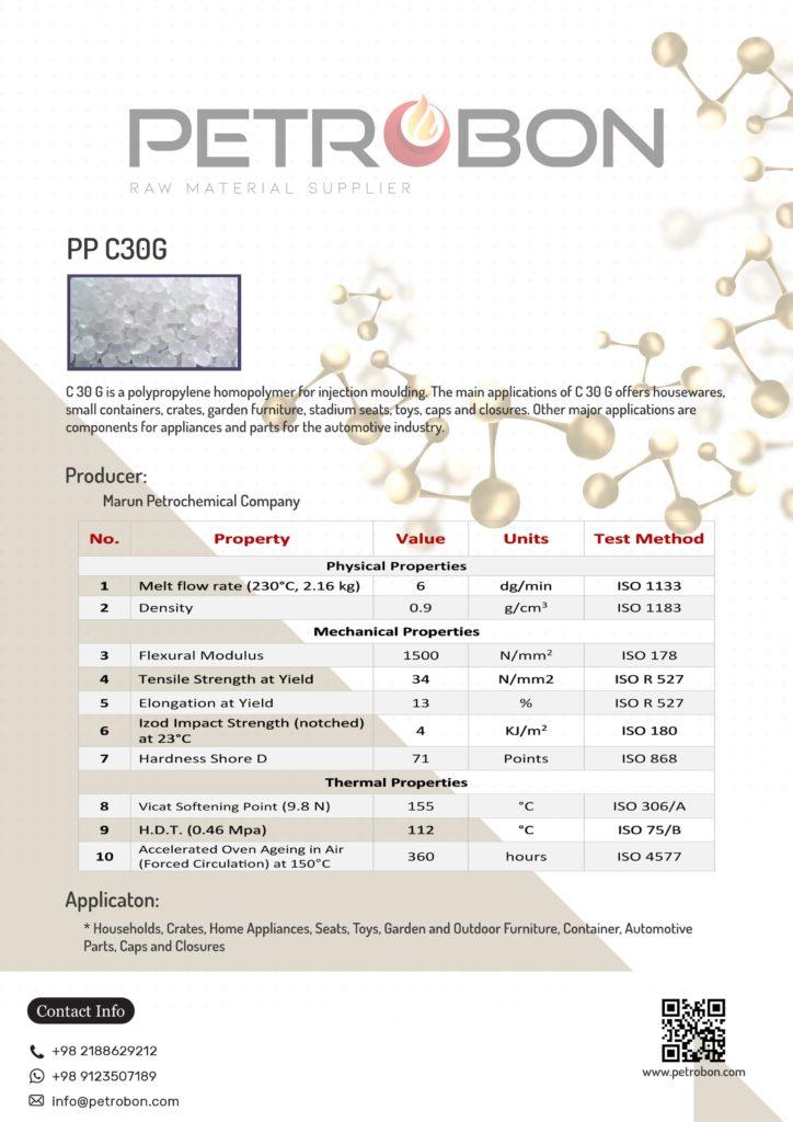 Marun C30G Datasheet   www.petrobon.com