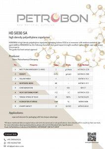 Tabriz HD 5030 SA Datasheet