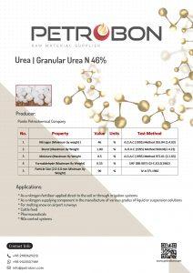 datasheet of Pardis Urea 46%