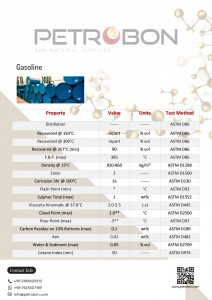 gasoline datasheet