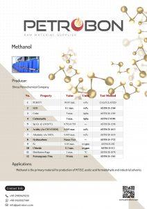 Shiraz Methanol Datasheet